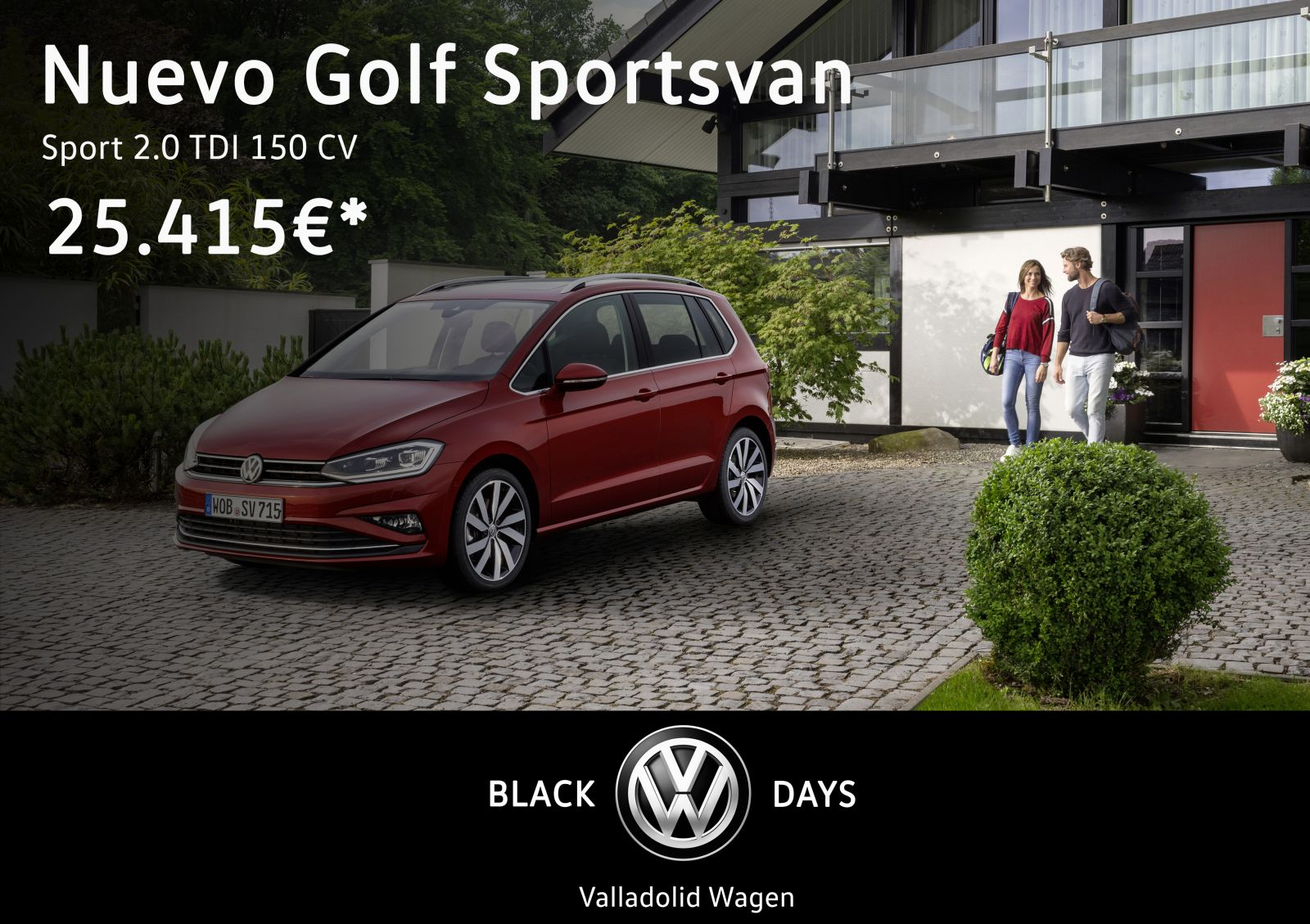 golf sportsvan valladolid
